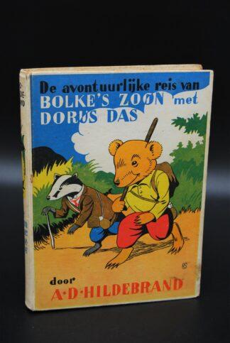 Oud kinderboek-De avontuurlijke reis van Bolke's zoon met Dorus Das