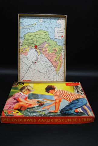 Provincie Groningen-vintage legpuzzel
