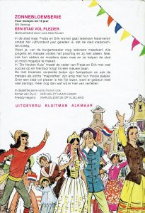 Vintage jeugdboek jaren 80-Een stad vol plezier-Wil vening (achterkant)