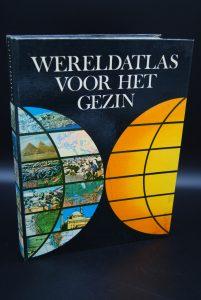 Wereldatlas voor het gezin, 1970, B.D.Swanenburg