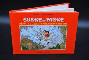 2 strips ineen- Suske en Wiske A5 reclame uitgave 1995