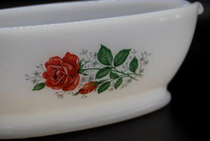 Arcopal saucière rose de France