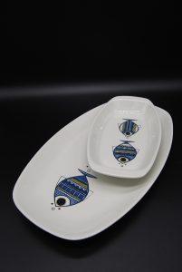 Boch Luxemburg Viking fish platters