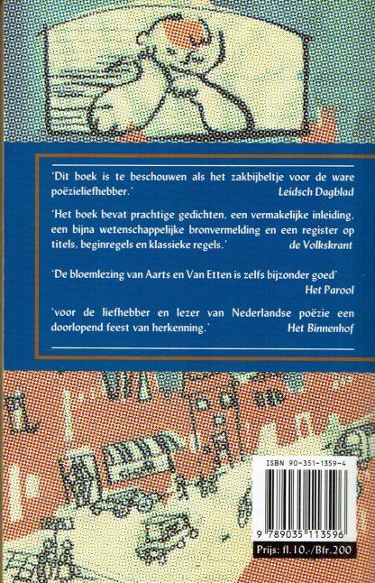 Domweg gelukkig in de Dapperstraat - De bekendste gedichten uit de Nederlandse literatuur - CJ Aarts en MC van Etten