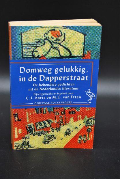 Domweg gelukkig in de Dapperstraat, tweedehands gediichtenbundel-9789035113596