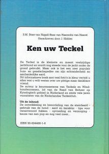 Ken uw Teckel - S.M. Bsse van Nagell- Bsse van Haersolte van Haerst