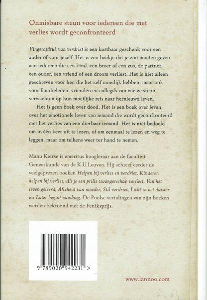 Manu Keirse - Vingerafdruk van verdriet ISBN 9789020942231