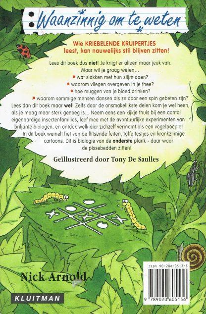 Nick Arnold - Kriebelende Kruipertjes-tweedehands kinderboek