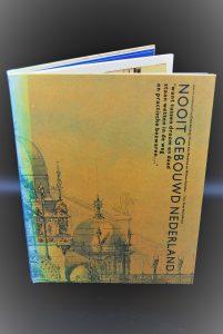Nooit gebouwd Nederland -tweedehands boek