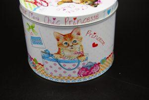 Schattig blik met tekening hondjes en katjes en tekst