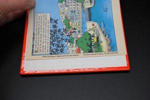 Standard special projects reclame uitgave Suske en Wiske- De witte gems en knokken in Knossos-2 strips in 1 boek