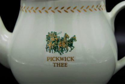 porseleinen mintgroen met Pickwick thee logo