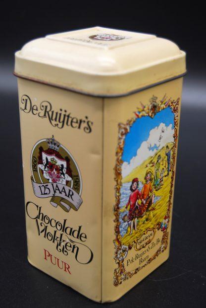 Baarns blikje-De Ruijter 125jaar-chocolade vlokken puur
