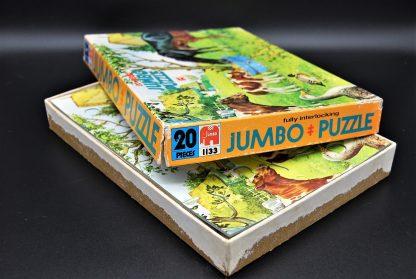 Fully interlocking puzzle Jumbo 20 pieces-jaren 80