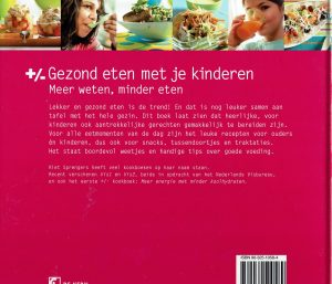 Gezond eten met je kinderen - Riet Sprengers ISBN 90-325-1058-4
