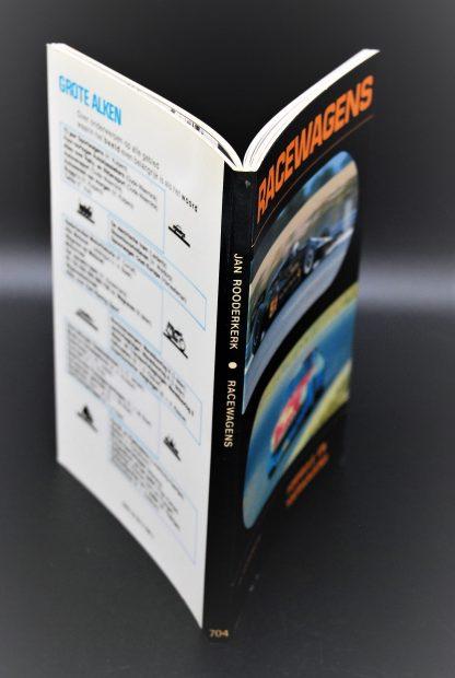 Grote Alken 704-Vintage boek-Racewagens-Jan Rooderkerk