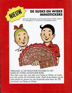 Het ministicker boek (1988) Suske en Wiske