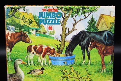 Jumbo puzzel nr 1133-fully interlocking-20 pieces-vintage
