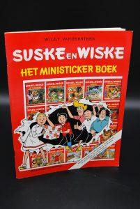 Ministicker boek (1989) - Suske en Wiske