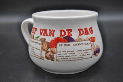 Soep van de dag - Vintage soepkom