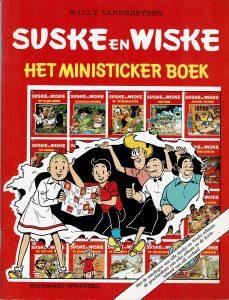 Suske en Wiske - Het ministicker boek 1988