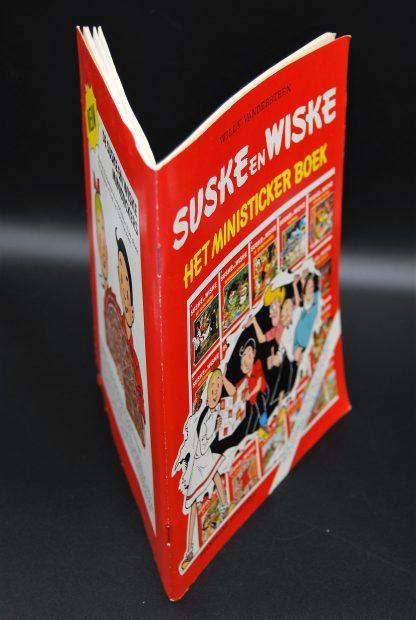 Suske en Wiske - ministicker verzamelboek 1988