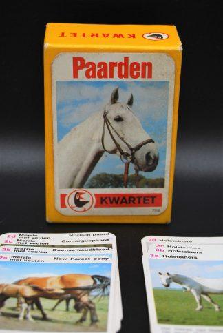 Vintage paardenkwartet-Raaf-Otto Maier