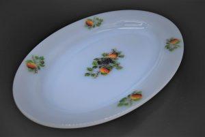 Vintage servies-Arcopal Fruits de France Serveerschaal ovaal