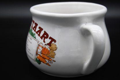 Vintage soepkom ossestaartsoep