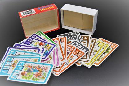 Vintage spel Jumbo-Kleuter kwartet 1978