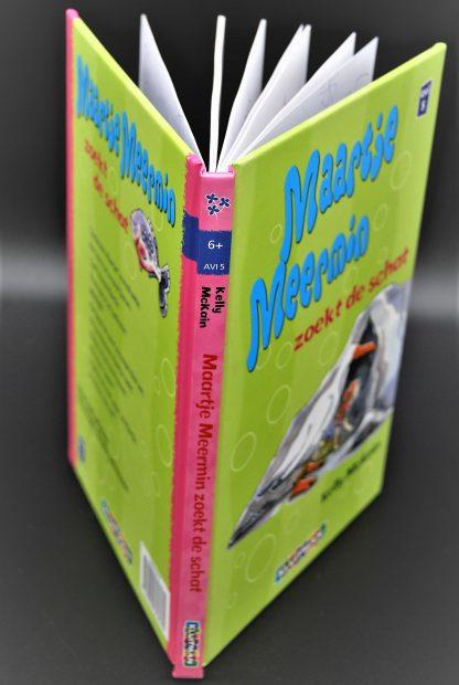 2ehands kinderboek AVI5-Maartje Meermin zoekt de schat-Kelly McKain