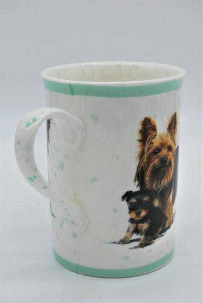 Beker hond Macneil Studio - Yorkshire terrier met pup