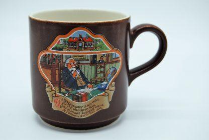 Boch beker - De bovenmeester met Douwe Egberts koffie