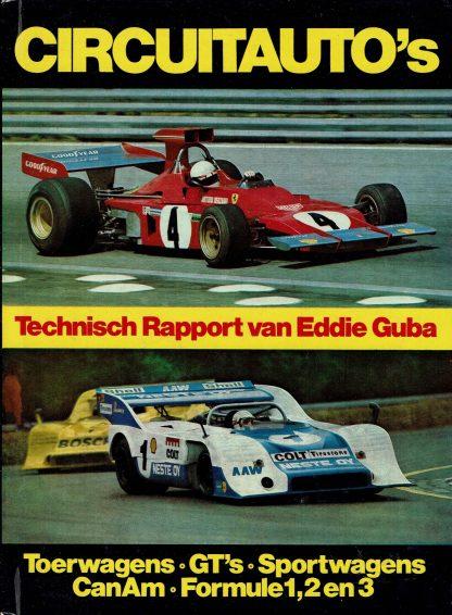 Circuitauto's - Eddie Guba-Toerwagens-GT's-Sportwagens-CanAm-Formule1,2en3