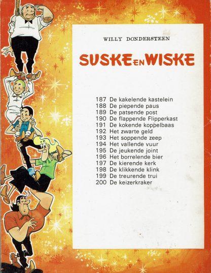 De Keizerkraker - Suske en Wiske (parodie) - Willy Dondersteen