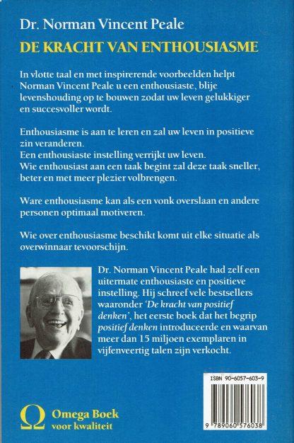 Dr. Norman Vincent Peale - De kracht van enthousiasme-9789060576038