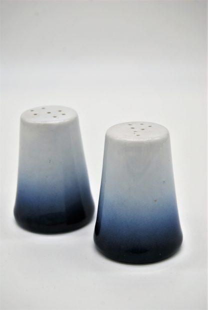 Kronester Bavaria peper en zoutstel met blauwe rand