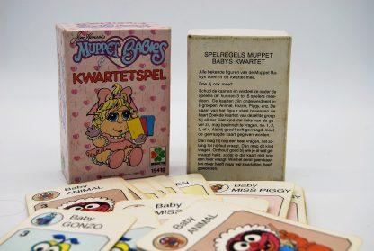 Muppetbabies kwartetspel Selecta 1986