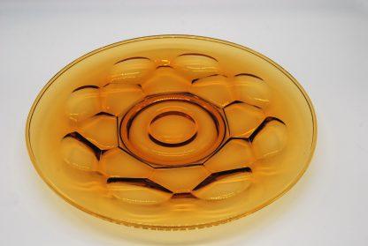 Ø 29 cm Amberkleurige schaal