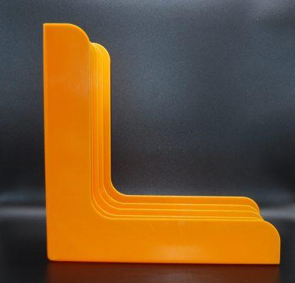 Oranje LP vinylrek