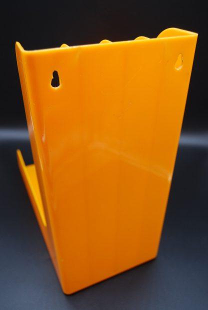 Oranje platenhouder voor aan de muur
