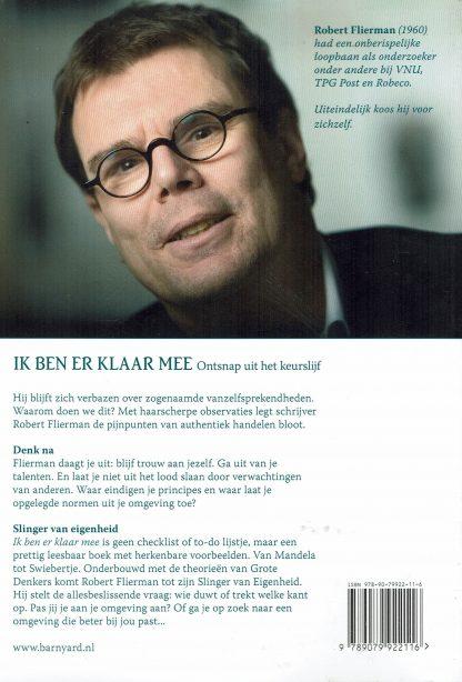 Robert Flierman - Ik ben er klaar mee - ISBN 978 90-79922-11-6