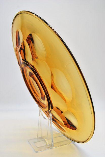 Schaal 29 cm amberkleur
