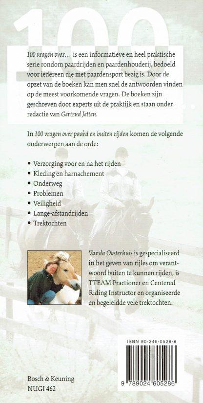 Vanda Oosterhuis - 100 vragen over paard en buitenrijden-9789024605286