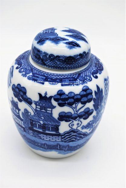 Blue Willow stijl gemberpot