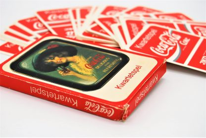 Coca Cola verzamelen-kwartetspeljaren 80