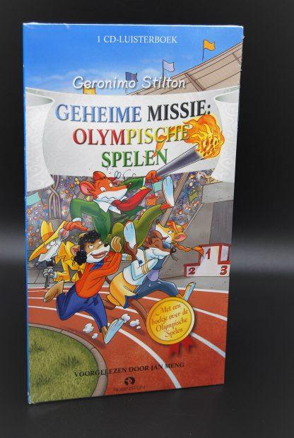 Geheime missie Olympische spelen-Geronimo Stilton-1CD Luisterboek NIEUW