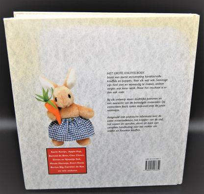 Het grote knuffelboek-met duidelijke werkbeschrijving en patronen-Jane Gisby
