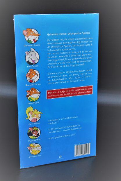 Olymisch spelen-Geheime missie- luisterboek op CD-Geronimo Stilton