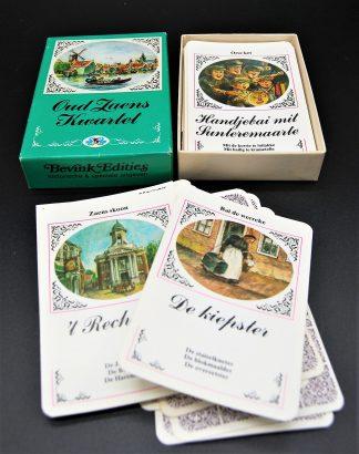 Oud Zaens Kwartet-Bevink edities